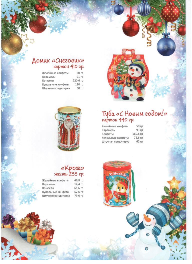 Новогодние подарки 2017, Калининград
